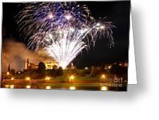 Castle Illuminations Greeting Card by John Kelly
