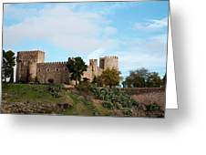 Castle In Sunlight Greeting Card