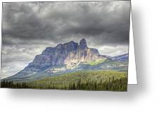 Castle Mountain 2011 Greeting Card