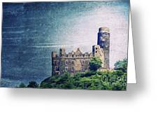 Castle Mouse Greeting Card