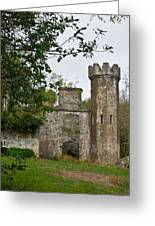 Castle Near Upper Lake Kilarney Irelnad Greeting Card