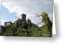 Castle Tirol Greeting Card