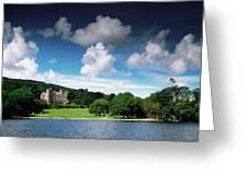 Castlewellan Castle & Lake, Co Down Greeting Card