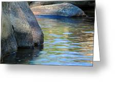 Castor River Reflections Greeting Card