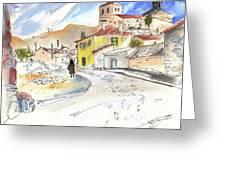 Castrillo De Duero In Spain 01 Greeting Card