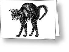 Cat-artwork-prints-2 Greeting Card