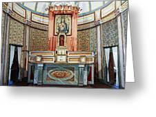Cataldo Mission Altar - Idaho State Greeting Card