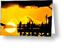 Catch A Sunset Greeting Card