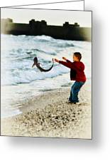 Catch And Release Greeting Card