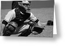 Catcher Posey Greeting Card