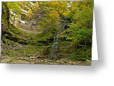 Cathedral Falls West Virginia Greeting Card