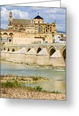 Cathedral Mosque In Cordoba Greeting Card by Artur Bogacki