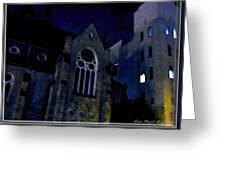 Cathedral On James St Greeting Card