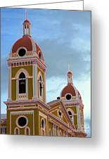 Cathedral On The Square 2 Greeting Card