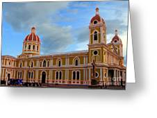 Cathedral On The Square Greeting Card
