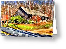 Catoctin Visitor Center Greeting Card
