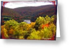 Catskill Fall Greeting Card