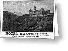 Catskills Hotel, 1884 Greeting Card
