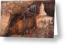 Cave Formations Greeting Card