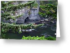 Cave Of The Bay Greeting Card