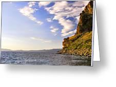 Cave Rock - Lake Tahoe Greeting Card