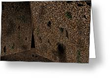 Cavern Walls Greeting Card
