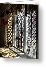 Cecilenhof Palace Window Greeting Card