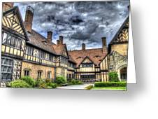 Cecilienhof Palace At Neuer Garten Berlin Greeting Card
