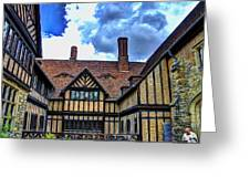 Cecilienhof Palace At Neuer Garten Greeting Card