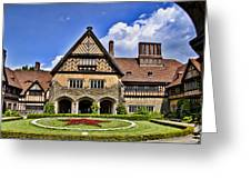 Cecilienhof Palace Berlin Germany Greeting Card