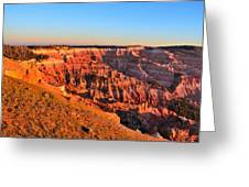 Cedar Breaks Sunset Greeting Card