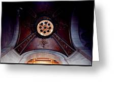 Ceiling Design Greeting Card