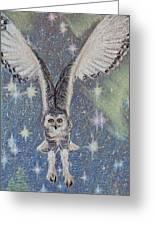 Celestial Swoop Greeting Card by Thomas Maynard