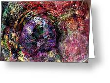 Cell Dreaming 1 Greeting Card