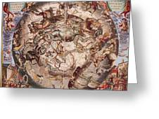 Cellariuss Constellations, 1660 Greeting Card