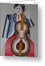 Cellist Greeting Card