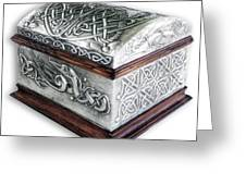 Celtic Chest 1 Greeting Card by Rodrigo Santos