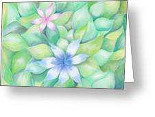 Celtic Flowers Greeting Card