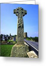 Celtic High Cross At Drumcliff Greeting Card