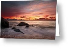 Celtic Sunset Greeting Card