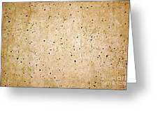 Cement Wall Greeting Card
