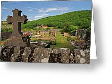 Cemetery In France Greeting Card
