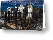 Cemetery Landscape Greeting Card