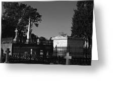 Cemetery- Natchez Mississippi Greeting Card