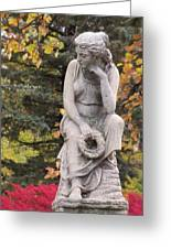 Cemetery Statue 1 Greeting Card