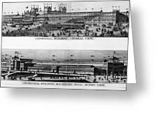 Centennial Expo, 1876 Greeting Card by Granger