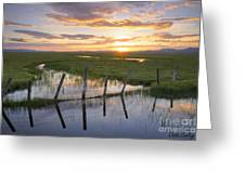 Centennial Sunset Greeting Card