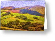 Central Coast Wine Country Greeting Card