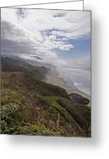 Central Oregon Coast Vista Greeting Card