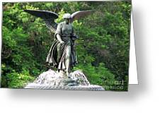 Central Park Angel Greeting Card